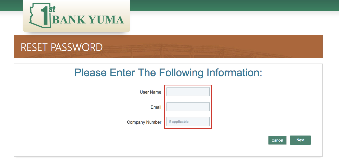 1st Bank Yuma Online Banking Login Guide