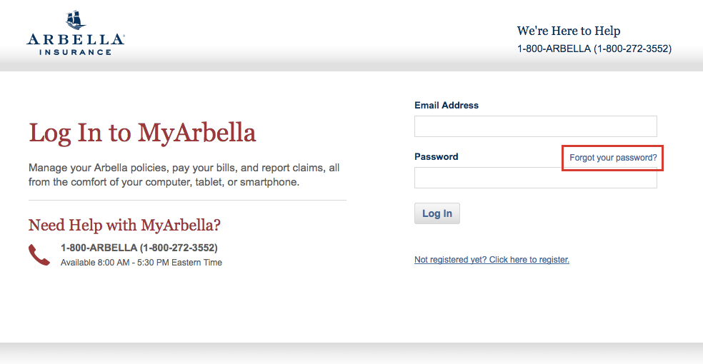 Arbella Insurance Online Login Guide