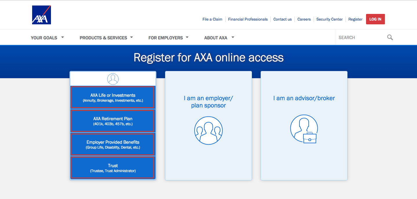 AXA Equitable Insurance Online Account Login Guide