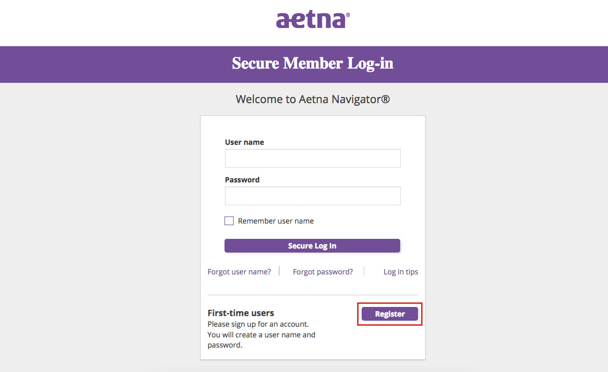 Aetna Insurance Account Online Login