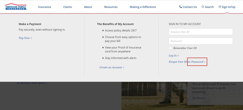 AmFam Insurance Account Online Helps