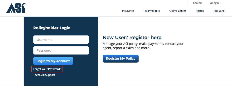 American Strategic Insurance Online Account Login Process