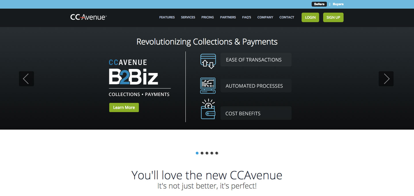 CCAvenue Priviledge Online Payment Account Login Steps