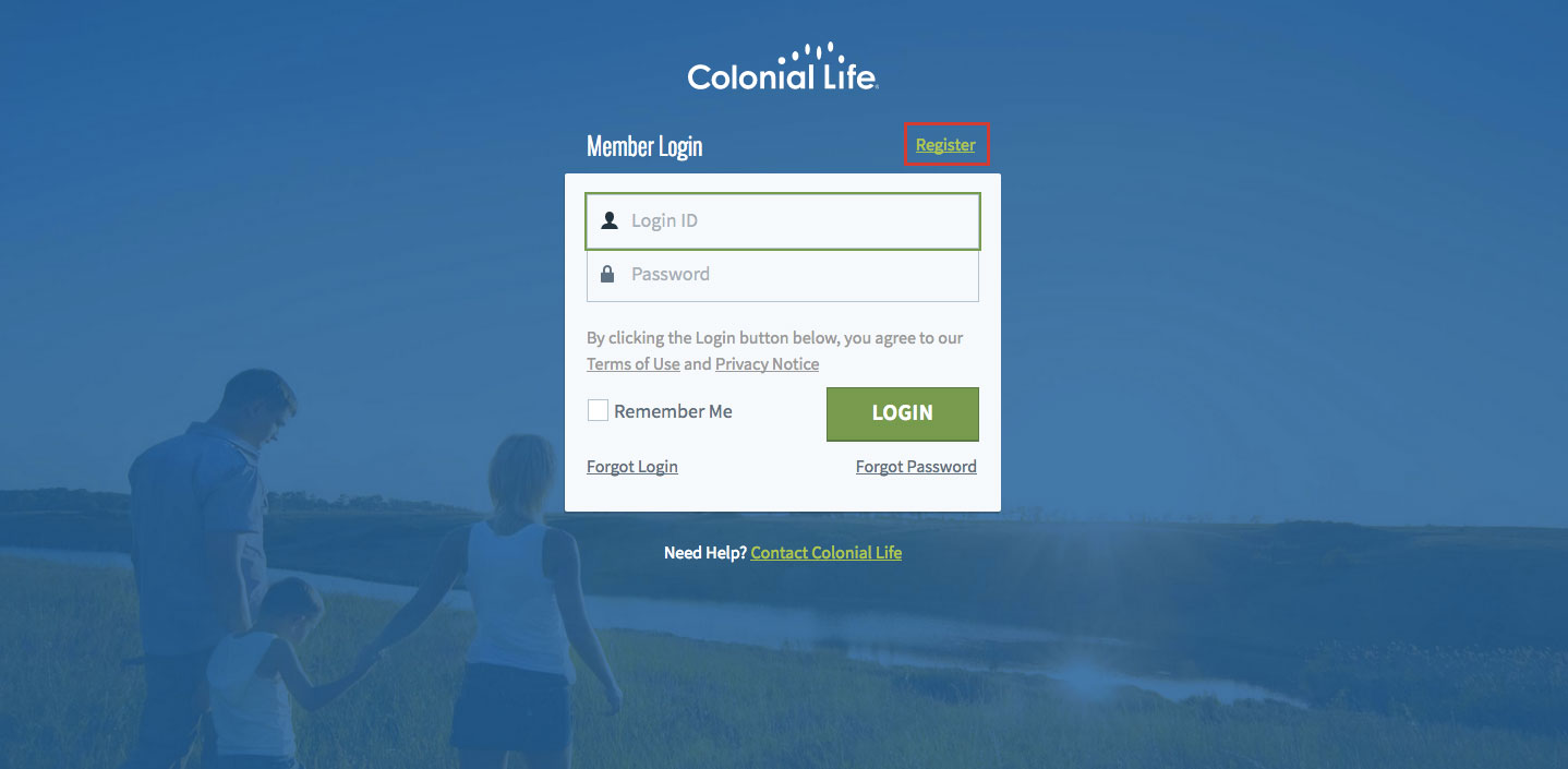 Colonial Life Insurance Online Login