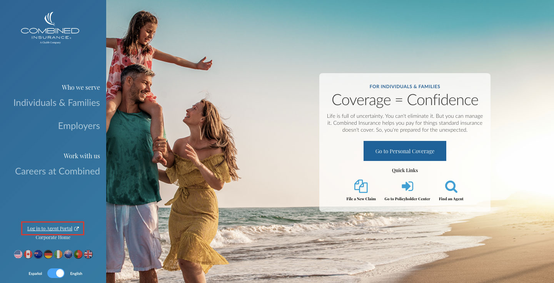Combined Insurance Online Account Login Procedure