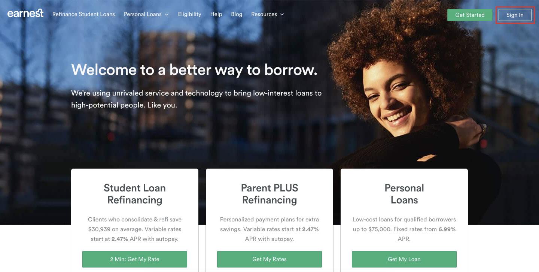 Earnest P2P Lending Login Steps