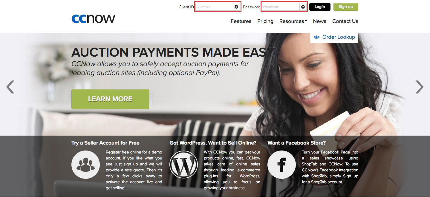 How to Login CCNow Online Payment Account