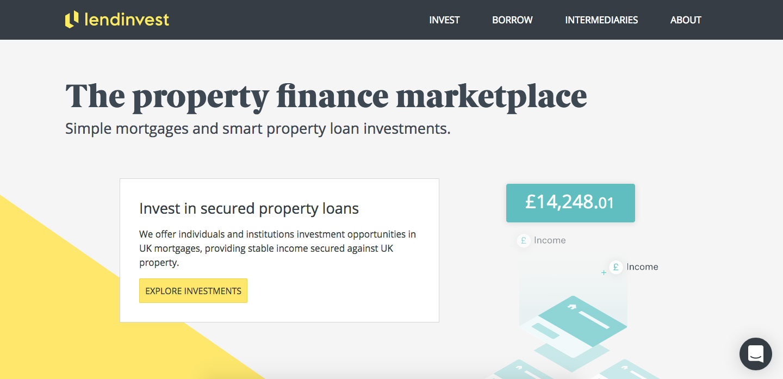 LendInvest P2P Lending Online Login Procedure