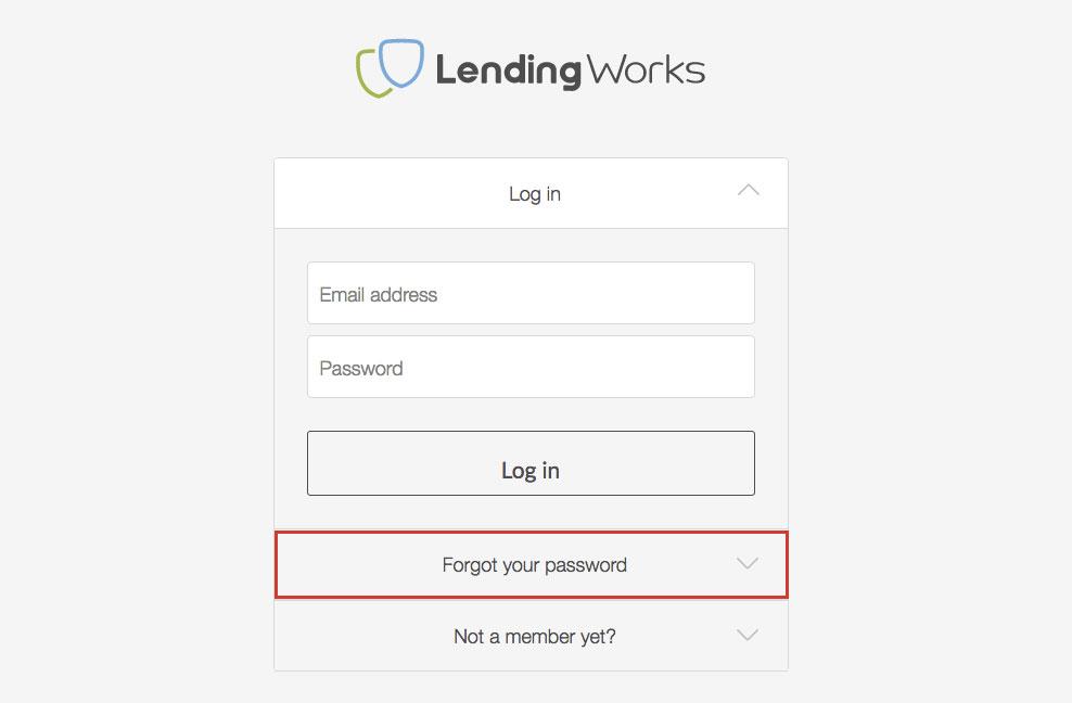 LendingWorks P2P Lending Online Account Login