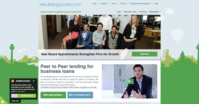 Rebuilding Society P2P Lending Login