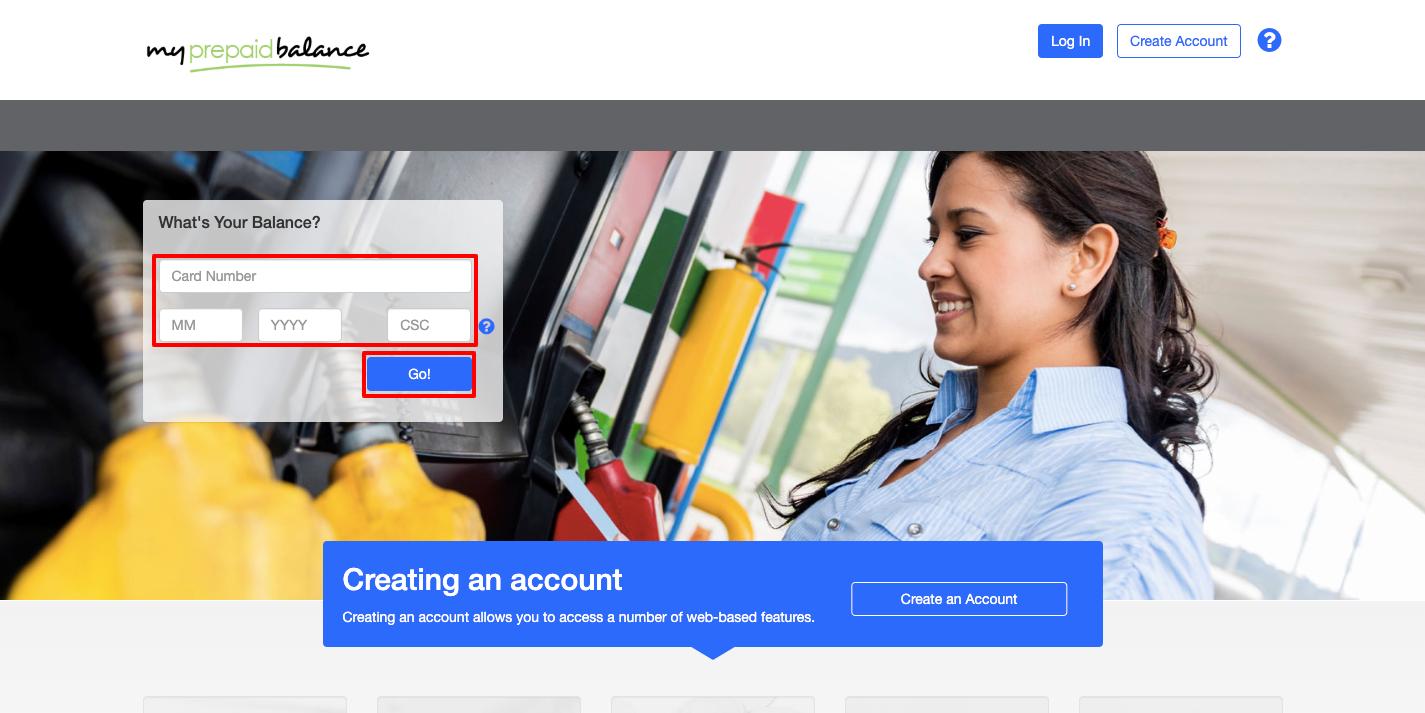 Check My Prepaid Card Balance Online
