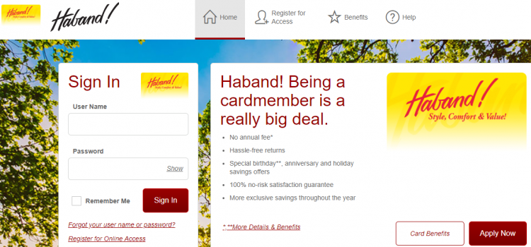 www.comenity.net/haband – Apply For Hanband Credit Card