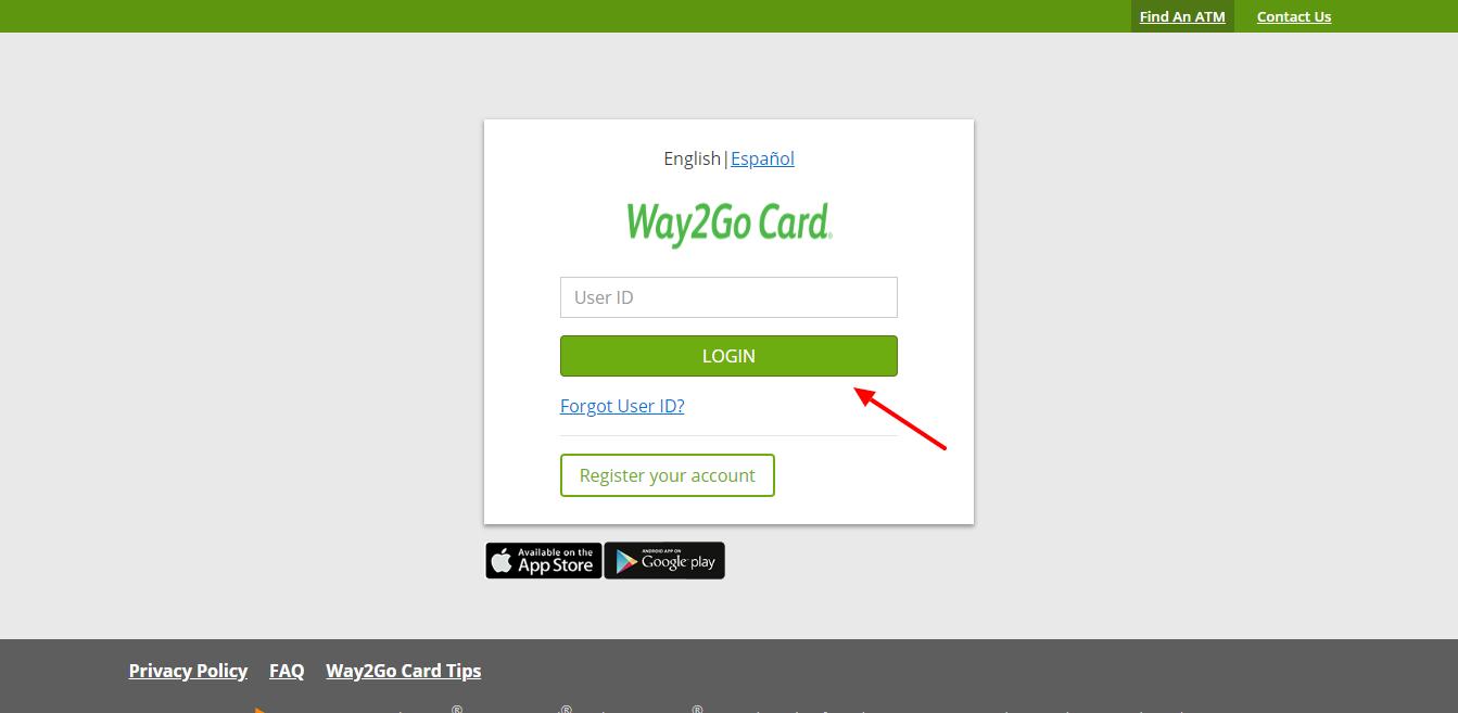 Login Way2Go Website