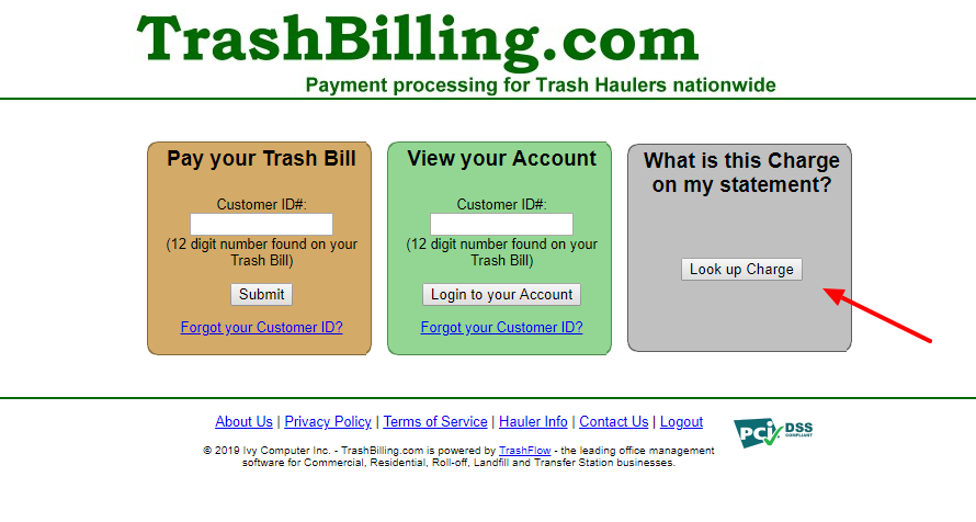 Pay your trash bills online