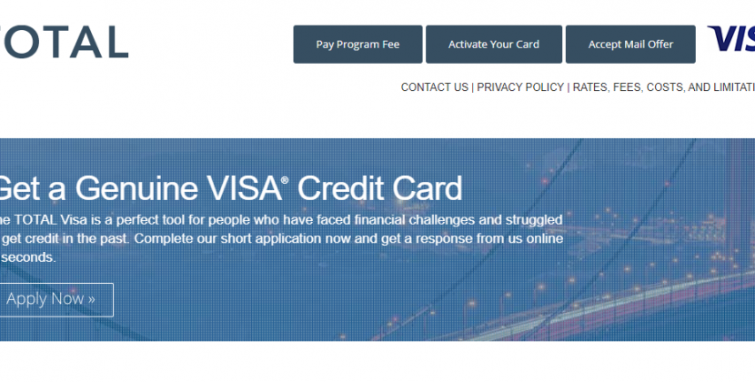 www.totalcardvisa.com – Application Process For Total Visa Credit Card Online