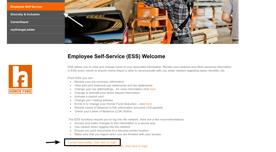 ESS Employee Self-Service