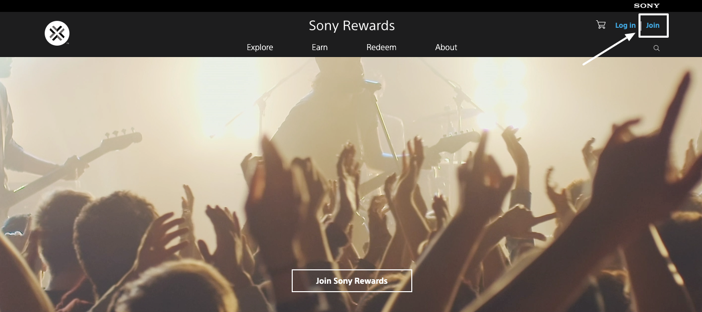 How to sign up for Sony Rewards