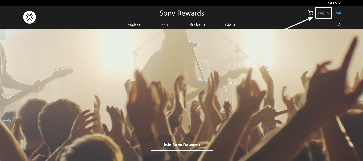 Sony Rewards Login