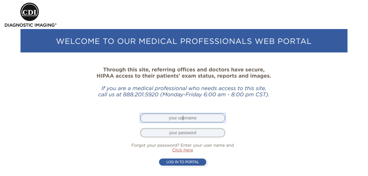 Medical Professionals Log On