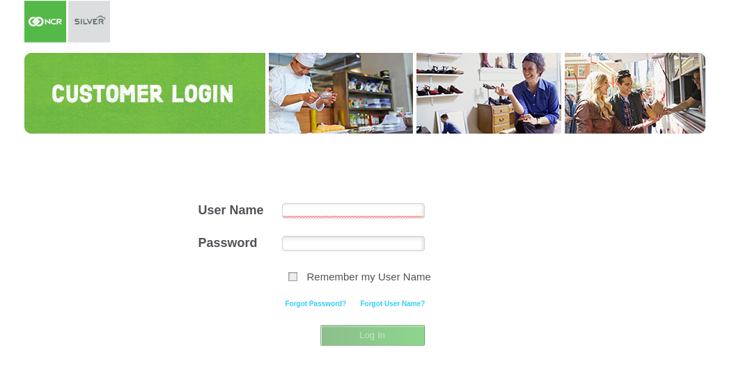 NCR Customer Login