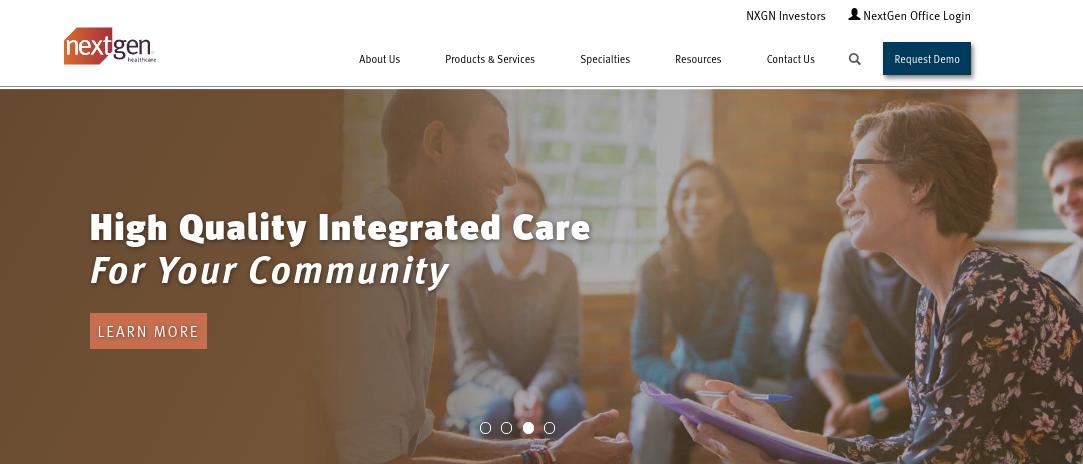 NextGen Healthcare Logo
