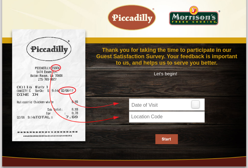 piccadilly survey