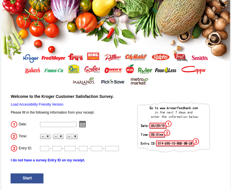 Kroger Customer Satisfaction Survey