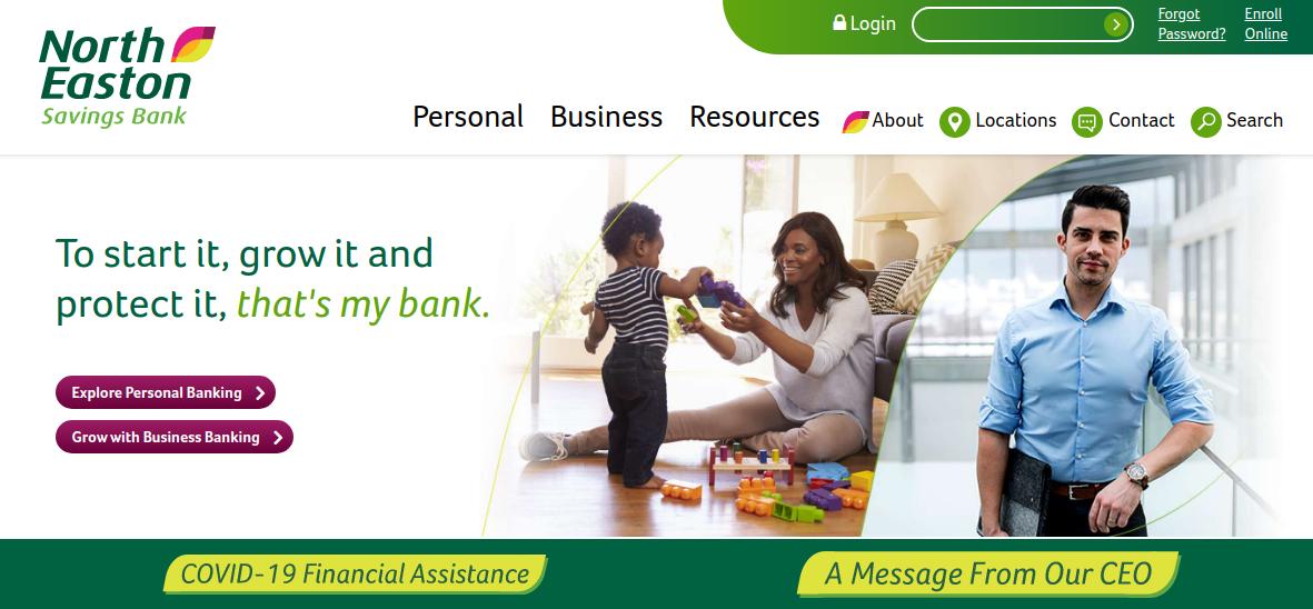 North Easton Savings Bank Logo