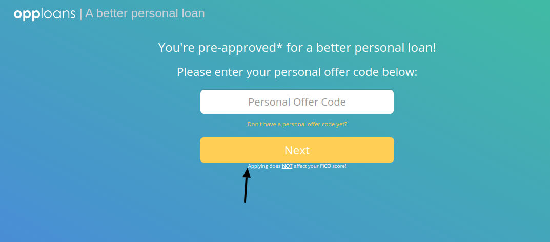 OppLoans personal loan Apply