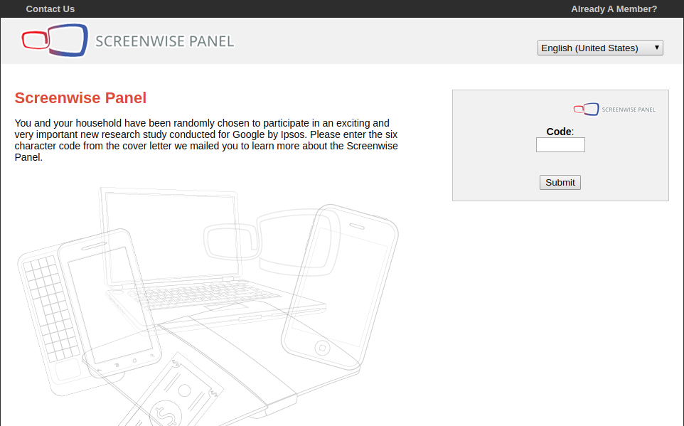 The Screenwise Panel Login