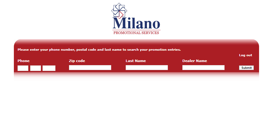 Rebate Inquiry Online by Milano Promotion Services