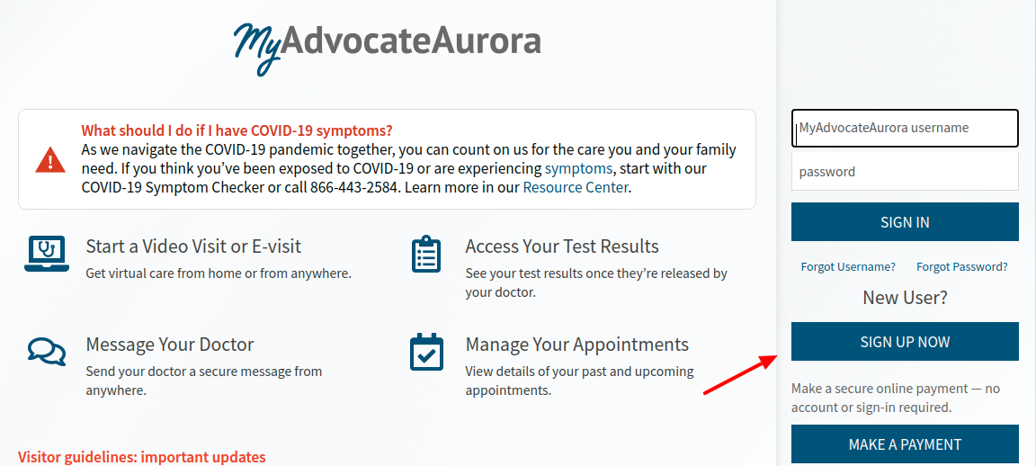 MyAdvocateAurora Sign Up