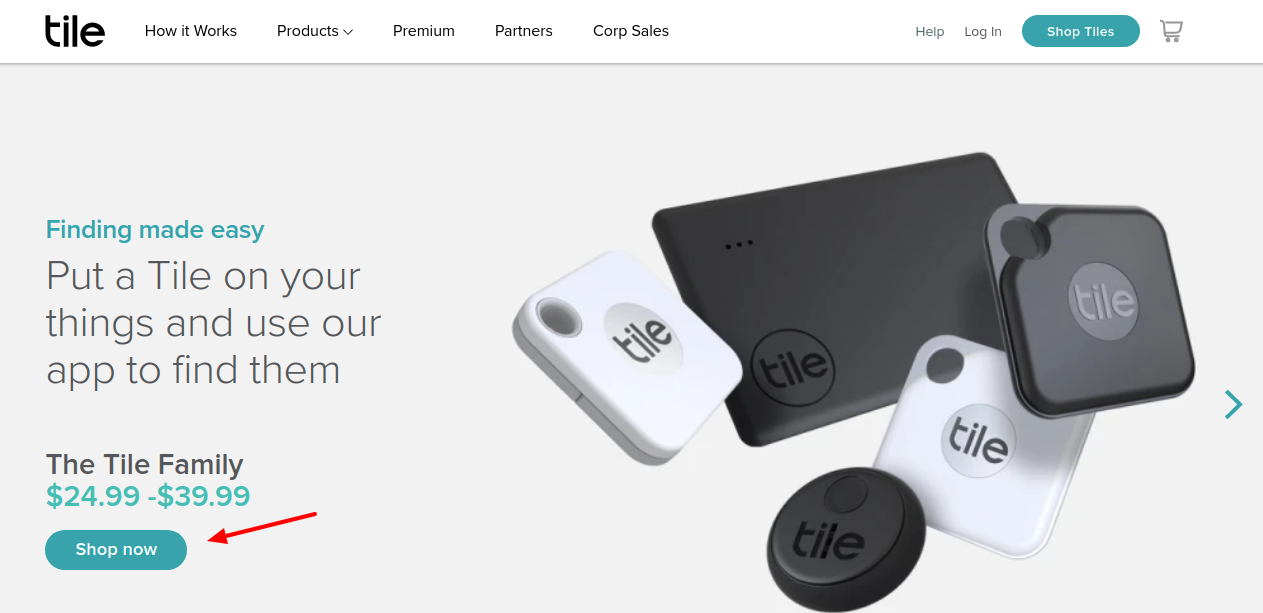 Tile Device Shop Now