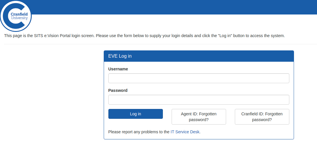 cranfield vle login