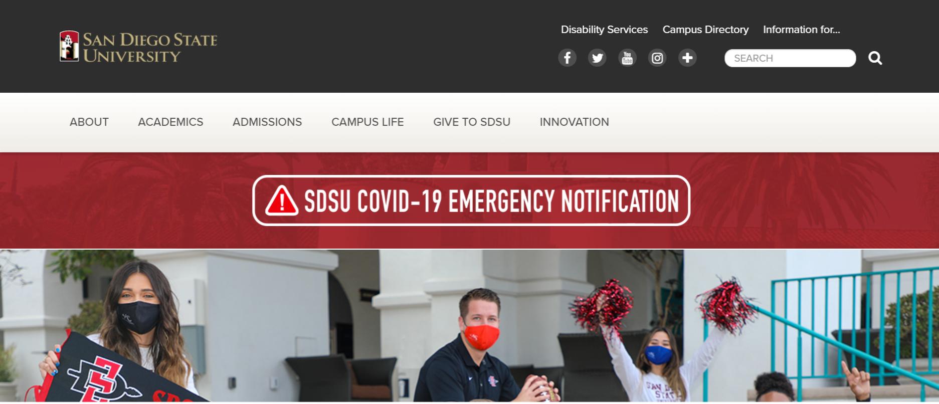 SDSU Webportal