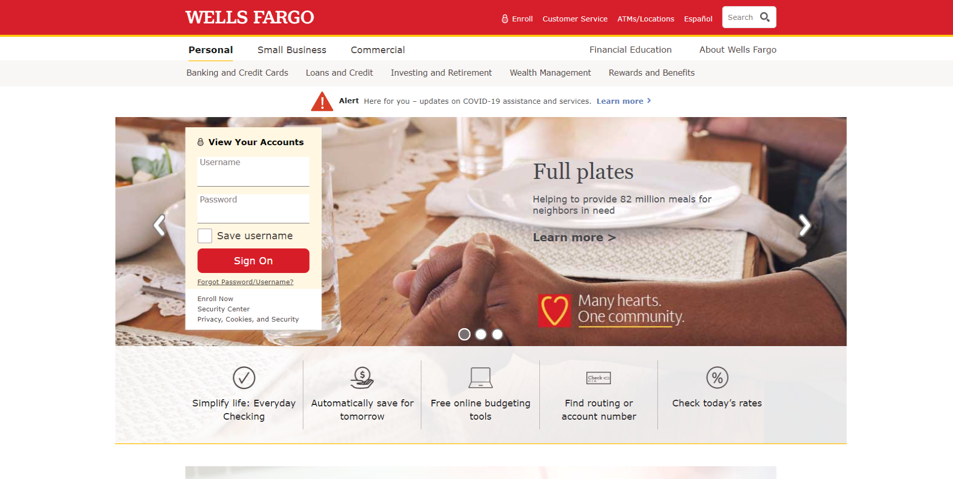 Wells Fargo Account