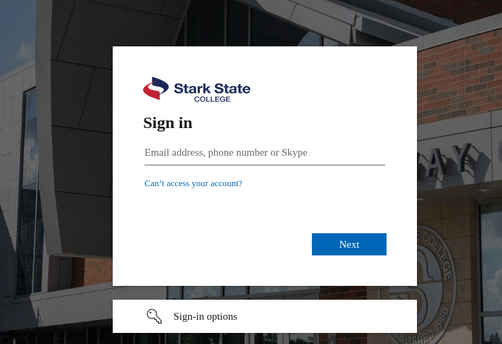 eStark State College login