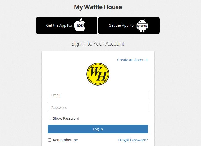 my wafflehouse logo